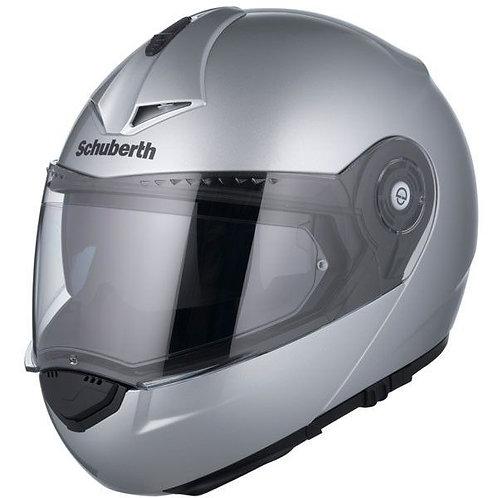Schuberth C3 Pro Gloss Silver