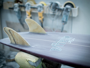 Twin Keel Fin Fish - Custom