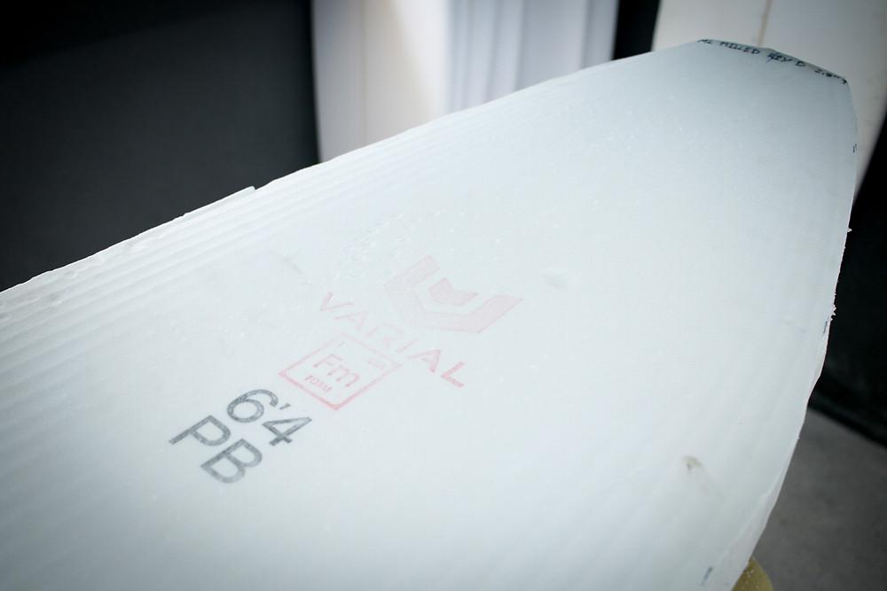 Varial Foam Blank - Bloque crudo