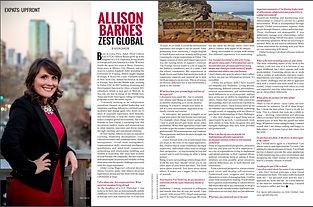 Allison Barnes Zest Global Global Living Magazine