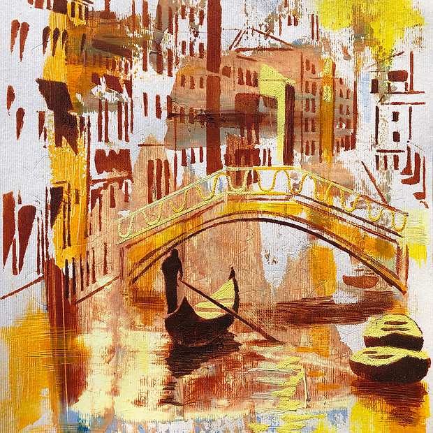 The New Reality. Second Study Venice. Ac