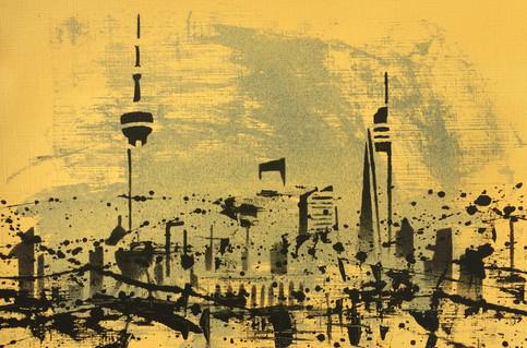Skyline Study. Shanghai