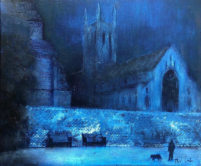 Nocturne. Worcester Cathedral. 2006