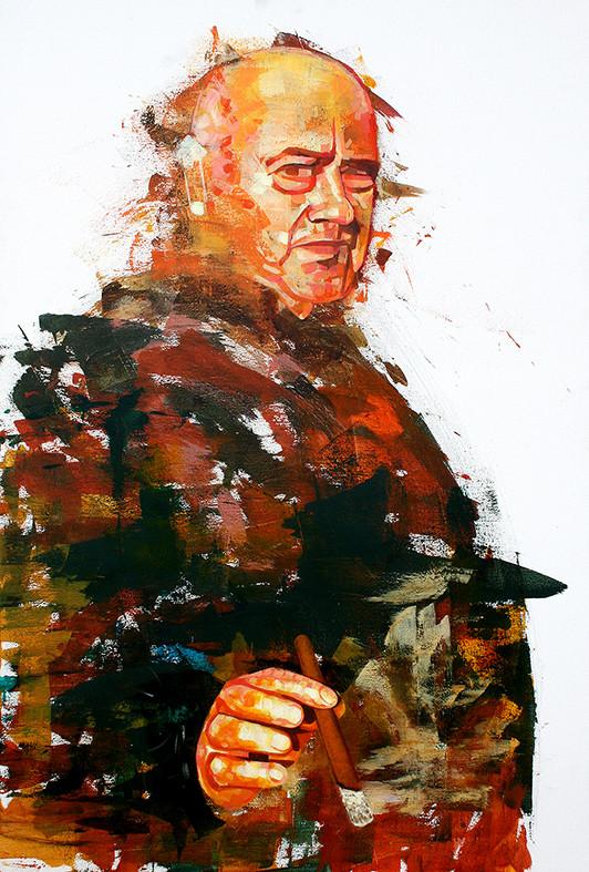 The Smoking Gun. BP Portrait Entry 2016