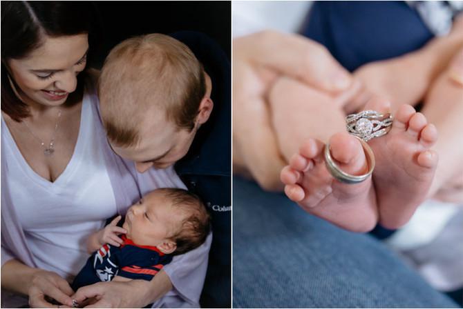 Babies -- A little bit of heaven sent down to earth -- Dallas & Caroline