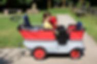6-Sitzer-Krippenwagen