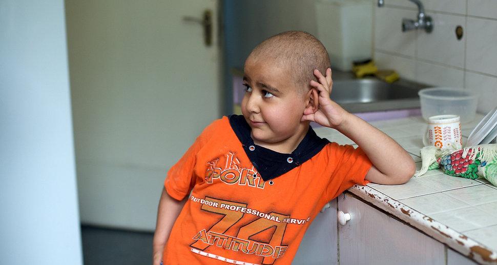 Cancer Survivor child from Armenia