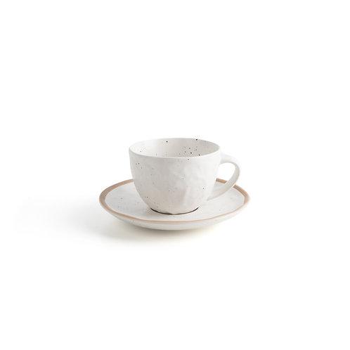 Pumice Cup & Saucer Set