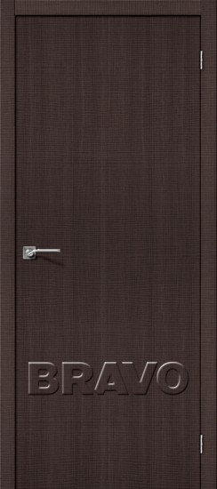 Дверь ЭКО Порта-50 (Wenge) Crosscut