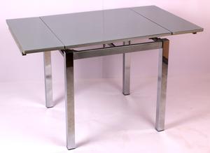 Обеденный стол ТВ 017-4 ЛДСП серый металлик