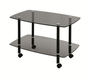 Журнальный стол Сервировочный черный