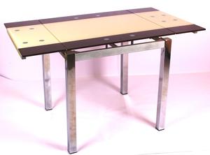 Обеденный стол ТВ 017-4 венге-ваниль