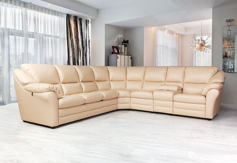 Сан-Ремо угловой диван-кровать с баром (Сан-Ремо 4)