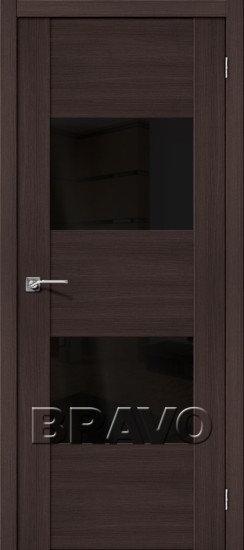 Дверь ЭКО VG2 (Wenge) Veralinga Black Star