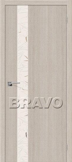 Дверь ЭКО Порта-51 (Cappuccino) Crosscut