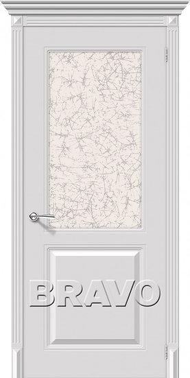 Дверь К Блюз (Белый) ПО