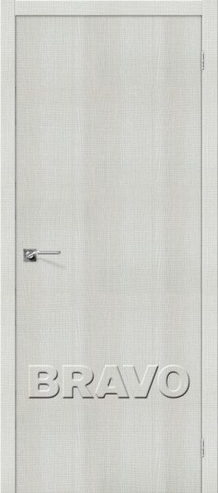 Дверь ЭКО Порта-50 (Bianco) Crosscut