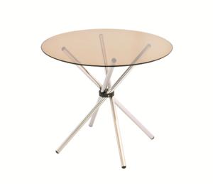 Обеденный стол круг Ф тонированный