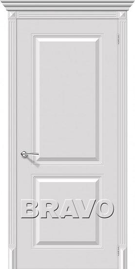 Дверь К Блюз (Белый) ПГ