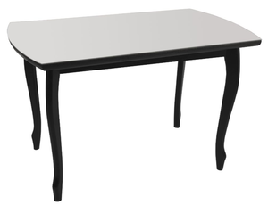 Обеденный стол Принт 5.5 серый металлик