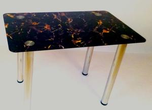 Обеденный стол Арт 6.2 кварцит черный