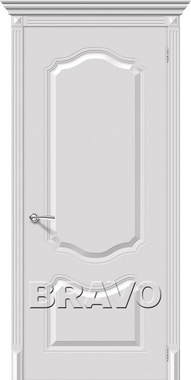 Дверь К Фолк (Белый) ПГ