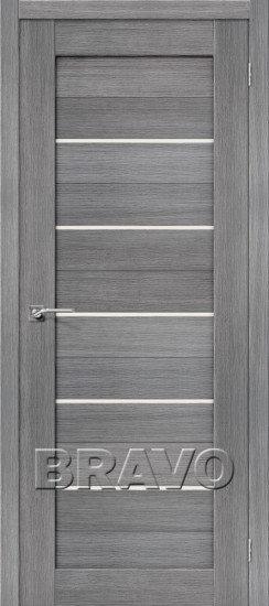 Дверь ЭКО Порта-22 (Grey) Veralinga Magic Fog