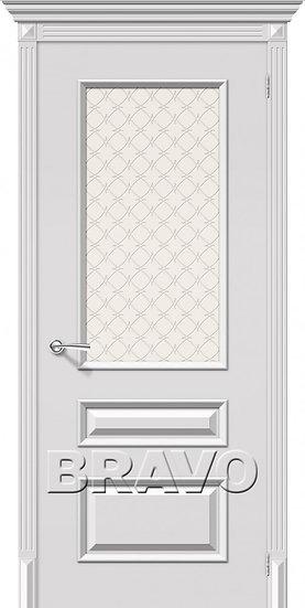 Дверь К Фьюжн К-23(белый) ПО