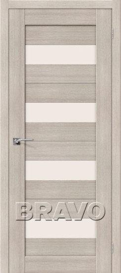 Дверь ЭКО Порта-23 (Cappuccino) Veralinga Magic Fog