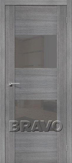 Дверь ЭКО VG2 (Grey) Veralinga Smoke