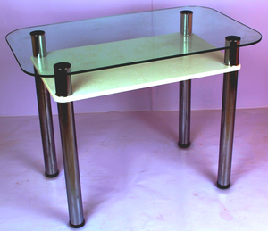 Обеденный стол 3.4 белый кристалл