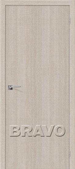 Дверь ЭКО Порта-50(Cappuccino) Crosscut