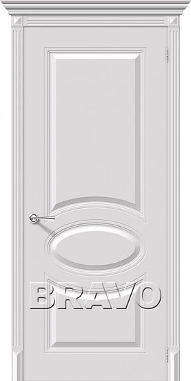 Дверь К Джаз (Белый) ПГ
