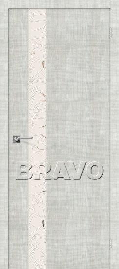 Дверь ЭКО Порта-51 (Bianco) Crosscut