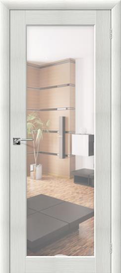 Дверь ЭКО Аква-7 (Bianco) Veralinga