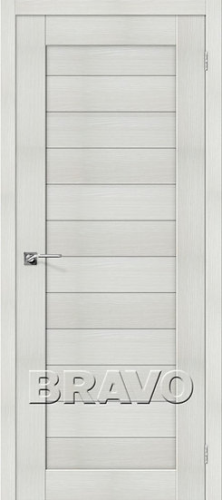 Дверь ЭКО Порта-21 (Bianco) Veralinga