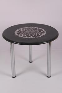 Обеденный стол Соренто 1.0 ДГ 6 черный