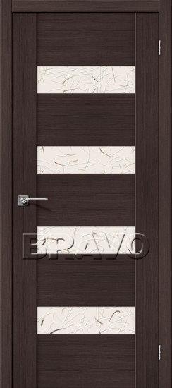 Дверь ЭКО VM4 (Wenge) Veralinga Silver Art