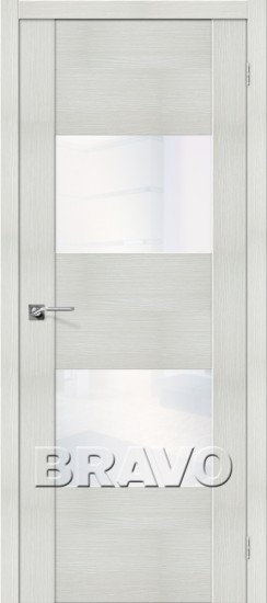 Дверь ЭКО VG2 (Bianco) Veralinga White Waltz