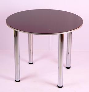 Обеденный стол 1.1 фиолетовый перламутр