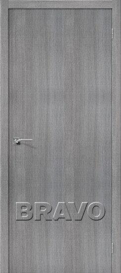 Дверь ЭКО Порта-50 (Grey) Crosscut