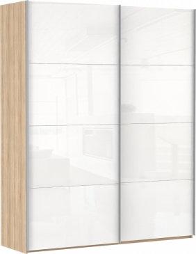 Эста 2-х дверный 8 белых стекол