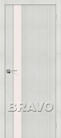 Дверь ЭКО Порта-11 (Bianco) Veralinga Magic Fog