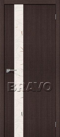 Дверь ЭКО Порта-51 (Wenge) Crosscut