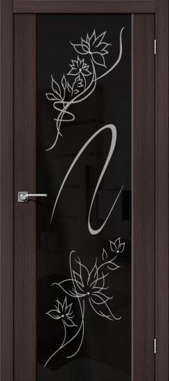 Дверь ЭКО S-13 Stamp (Wenge) Veralinga