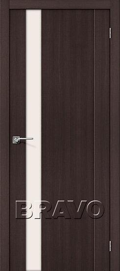 Дверь ЭКО Порта-11 (Wenge) Veralinga Magic Fog