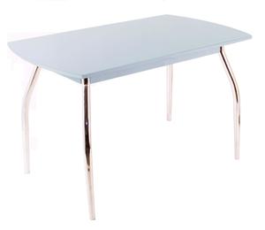 Обеденный стол  5.1 серый металлик