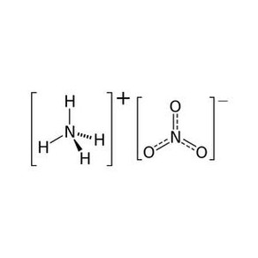 Nitrato de amonio: Reacciones y ''Reacciones''