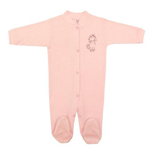 Baby Pajamas - Pink Doll