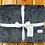 Thumbnail: Adult Throw Blanket: Marble Gunmetal